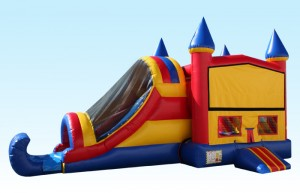 castle bounce house combo 2