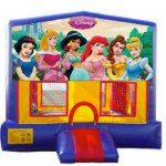 Bounce house princess banner
