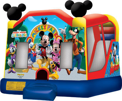 disney mickey minnie jump house combo